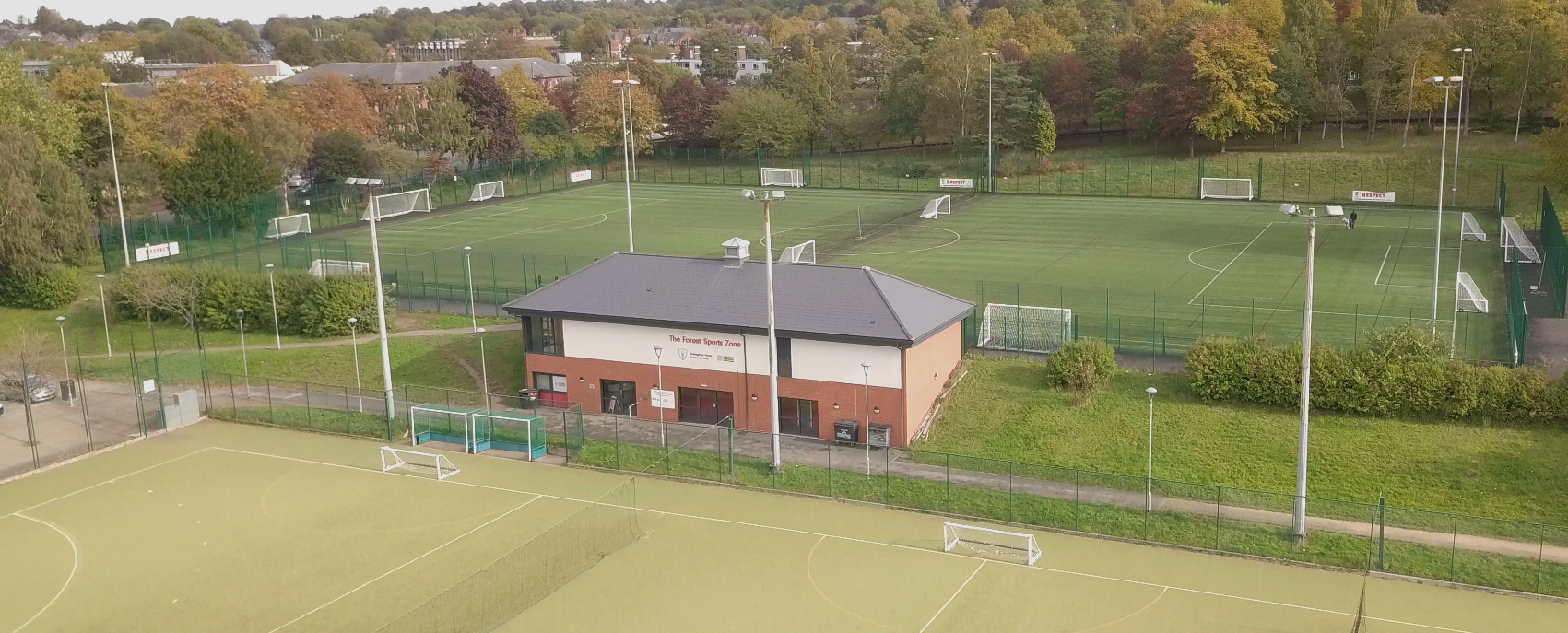 The Forest Sports Zone is now open