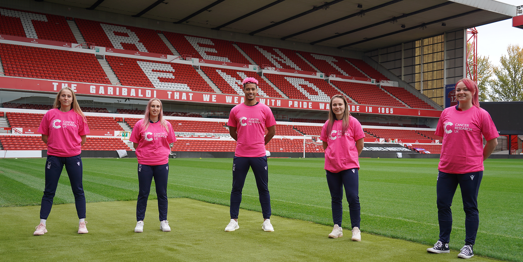 Coming together to support Lyle Taylor and Cancer Research UK