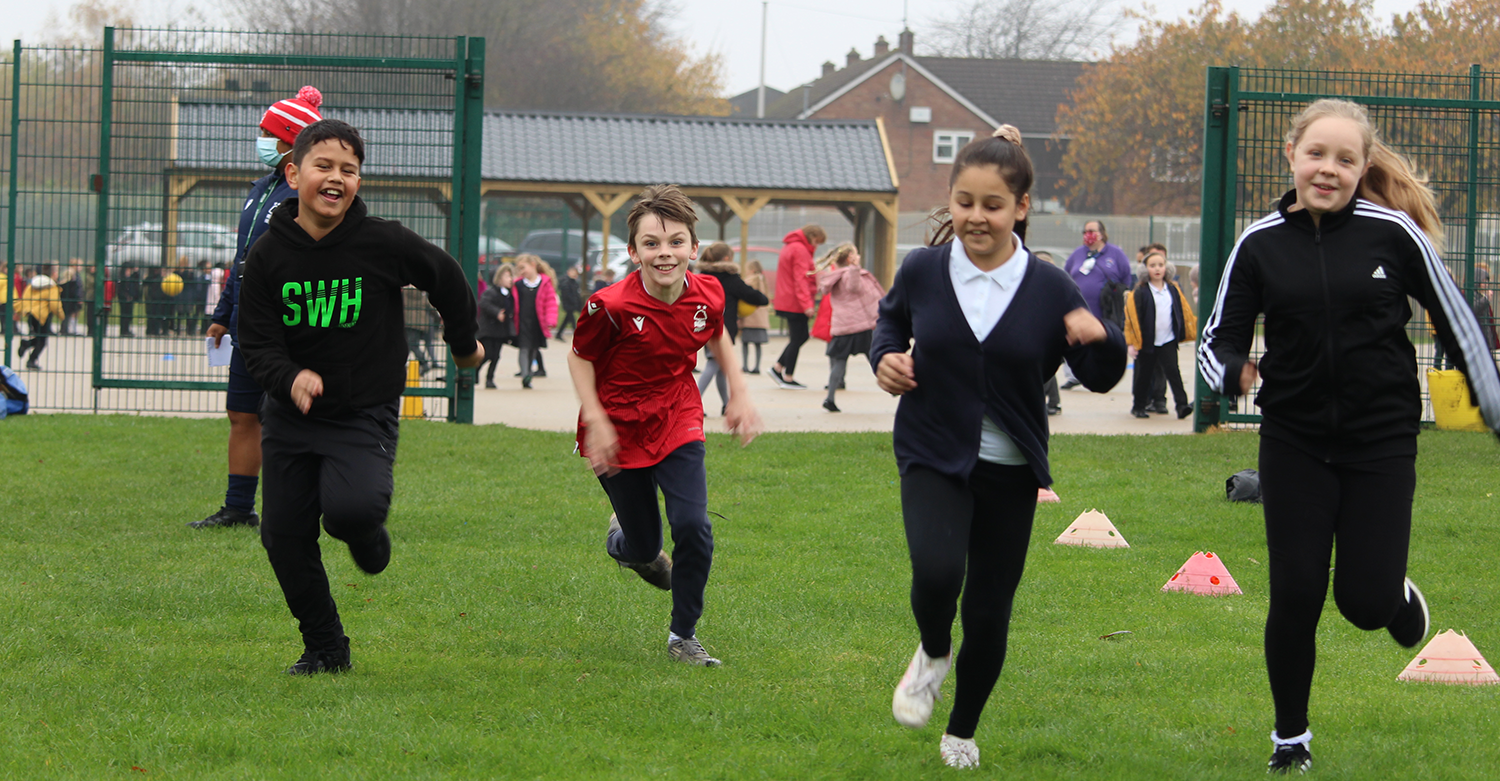 All Smiles for Healthy Lifestyles at Leamington Primary School