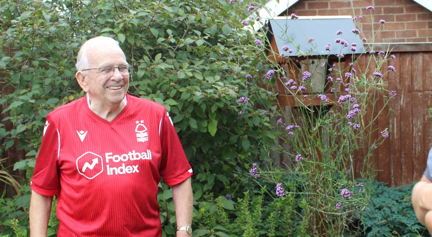 89-year-old John, gets emotional about our Tackling Loneliness programme