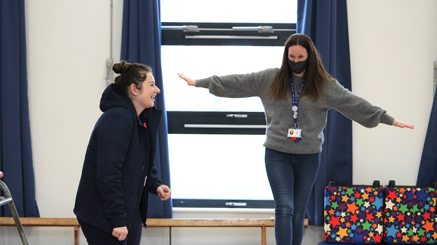 Our support has given Miss Cooper new confidence