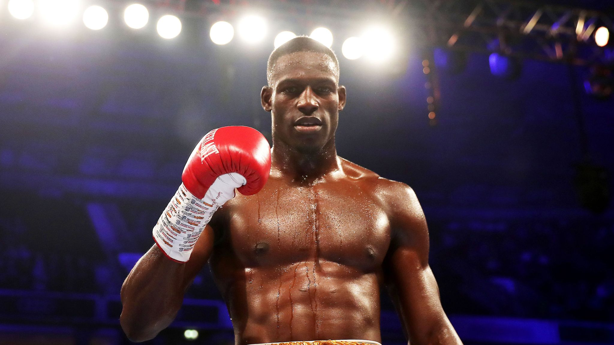 Boxer, Richard Riakporhe helps us to inspire young people