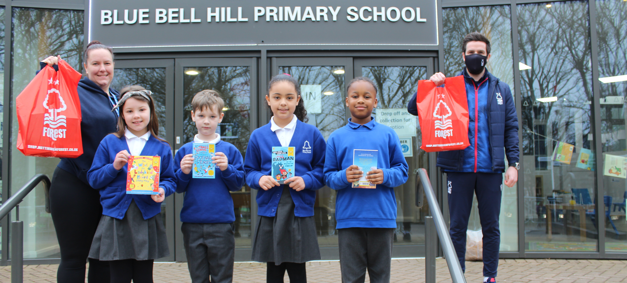 World Book Day   200 books delivered to local primary schools