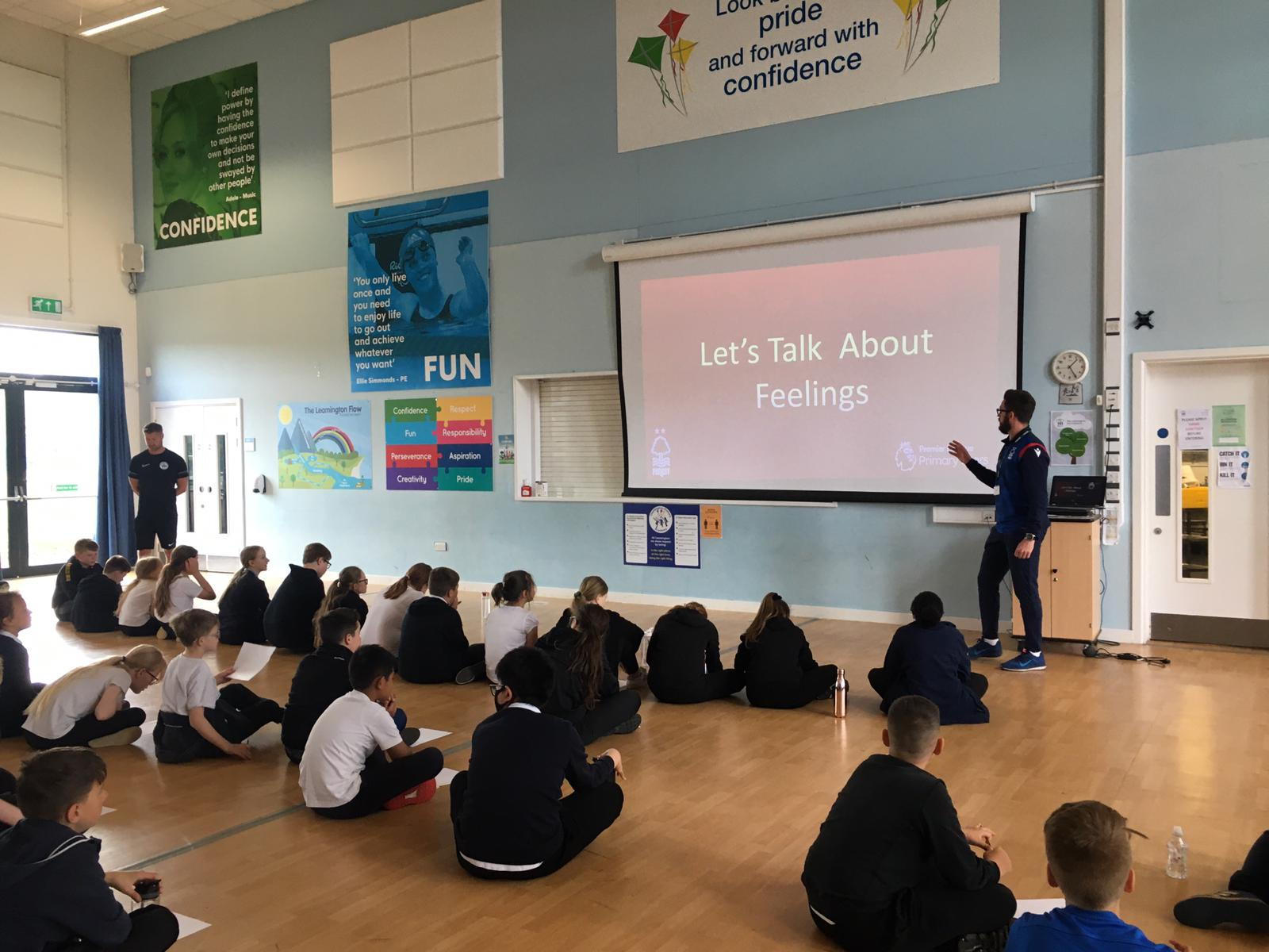 Mental Health Day at Leamington Primary