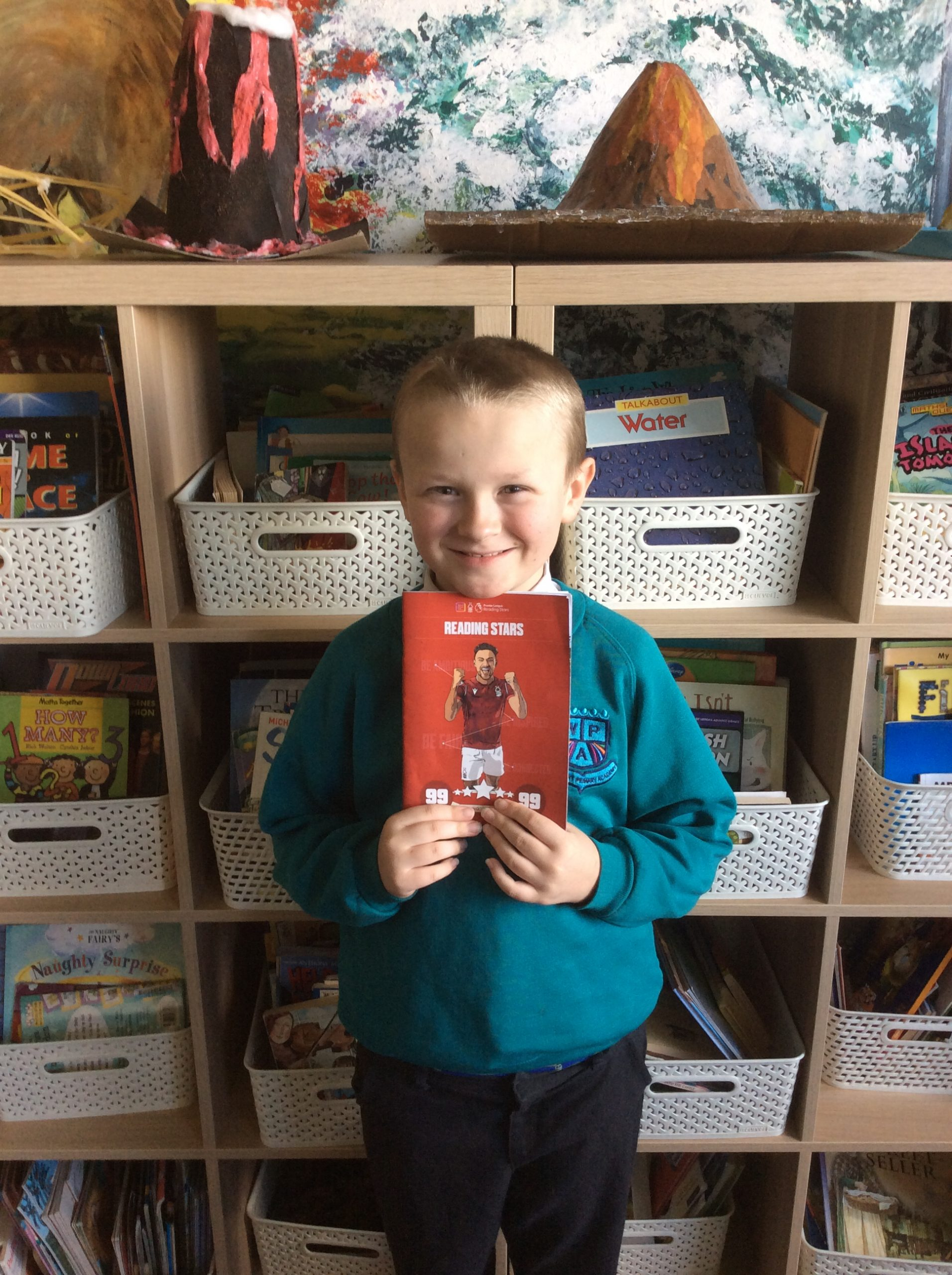 Bradley discovers a love for reading.